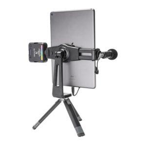 Ulanzi ST-20 Ngàm kẹp dành cho điện thoại và máy tính bảng, tích hợp 2 Cold shoe, xoay 360°
