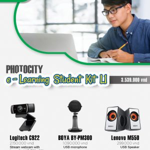 PhotoCity e-learning Student Kit L1 (Bộ dụng cụ học online)