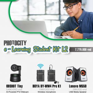 PhotoCity e-learning Student Kit L2 (Bộ dụng cụ học online)