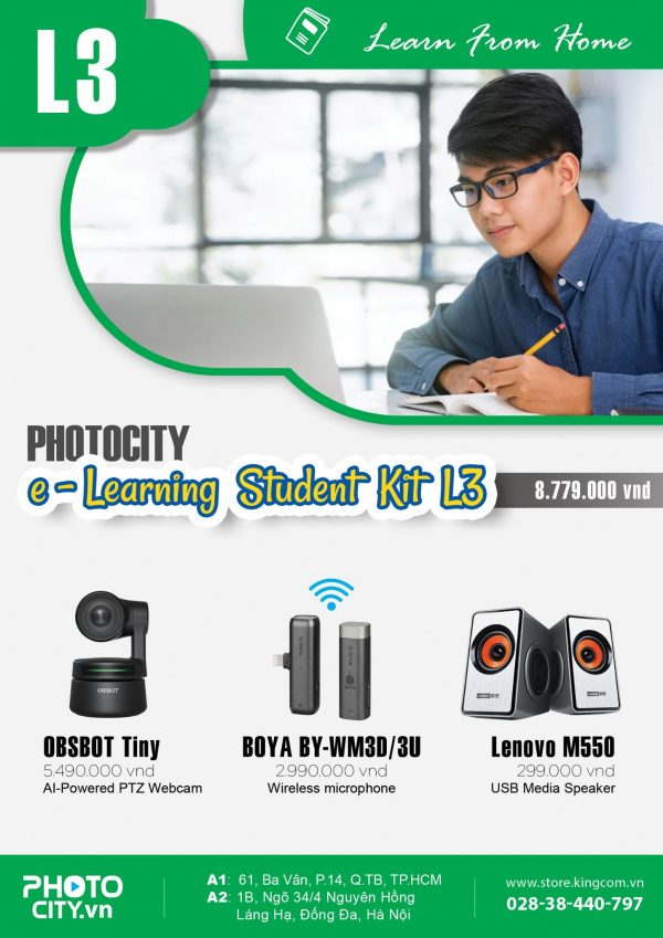 PhotoCity e -learning Student Kit L3 (Bộ dụng cụ học online)