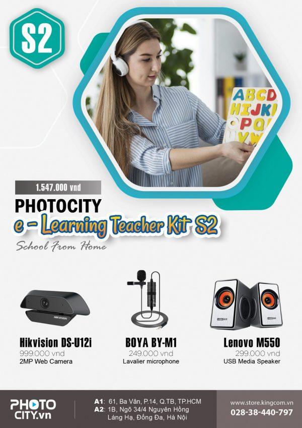 PhotoCity e -learning Teacher Kit S2 (Bộ dụng cụ dạy học online)
